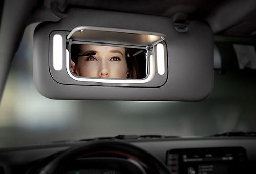 لامپ های روشنایی آینه آفتابگیر